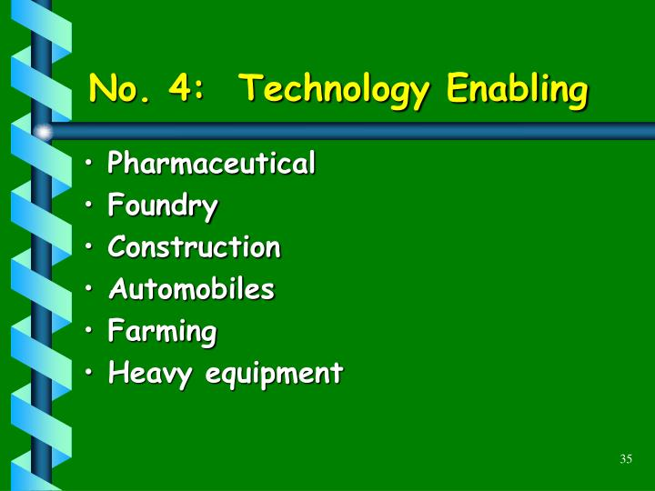 No. 4:  Technology Enabling