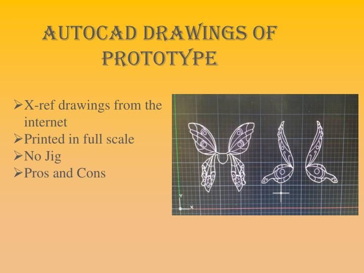 AutoCAD drawings of Prototype
