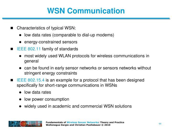 WSN Communication