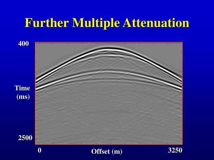 Further Multiple Attenuation