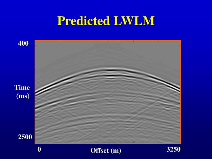 Predicted LWLM