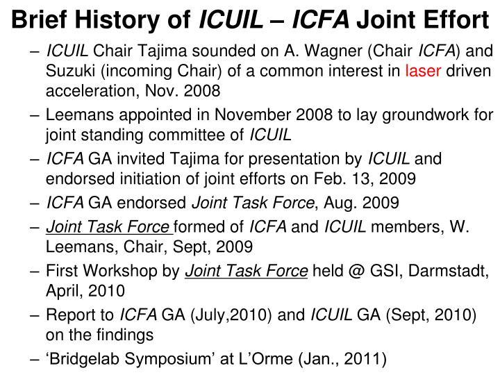 Brief History of