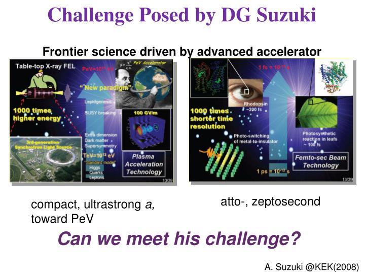 Challenge Posed by DG Suzuki