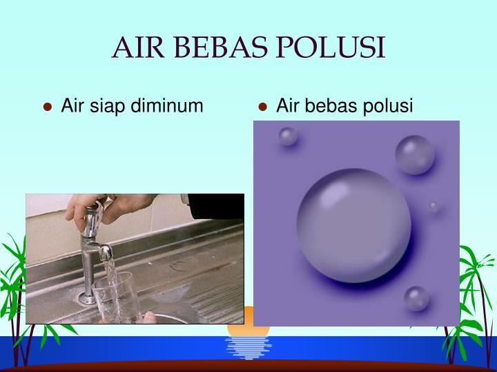 Air bebas polusi