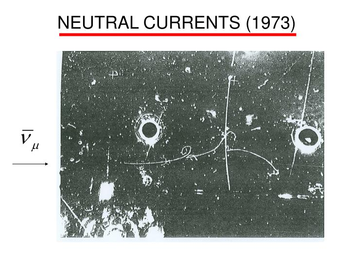 NEUTRAL CURRENTS (1973)