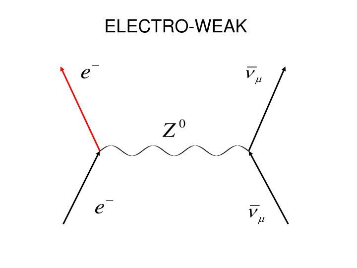 ELECTRO-WEAK