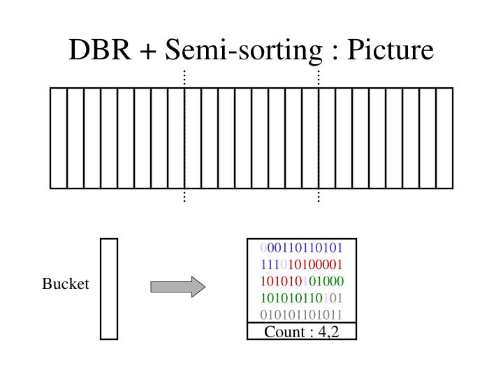DBR + Semi-sorting : Picture