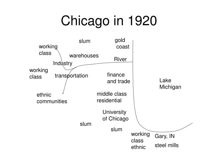Chicago in 1920