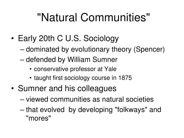 """Natural Communities"""