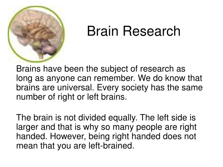 Brain research