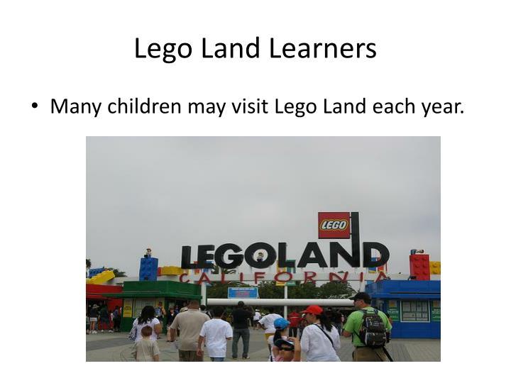 Lego land learners1