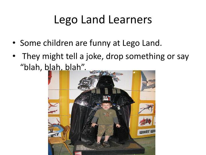 Lego land learners2