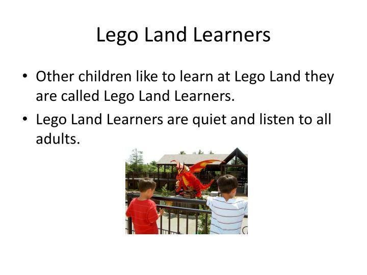 Lego Land Learners