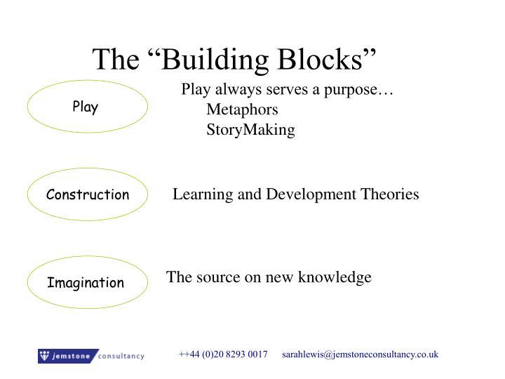 "The ""Building Blocks"""