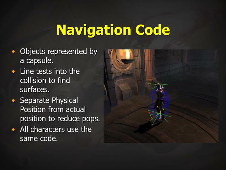 Navigation Code