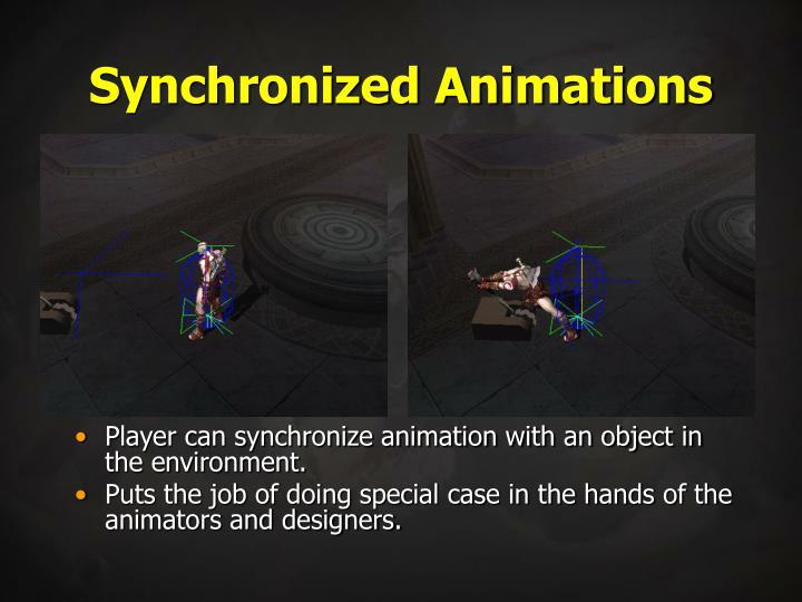 Synchronized Animations