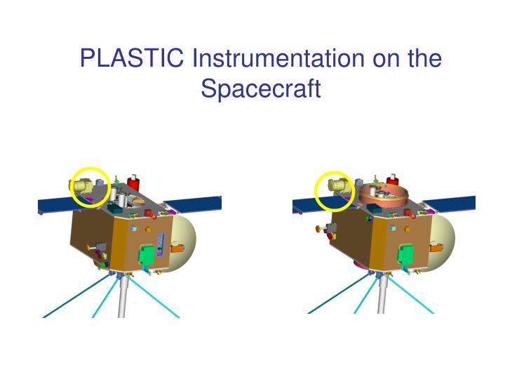 PLASTIC Instrumentation on the Spacecraft