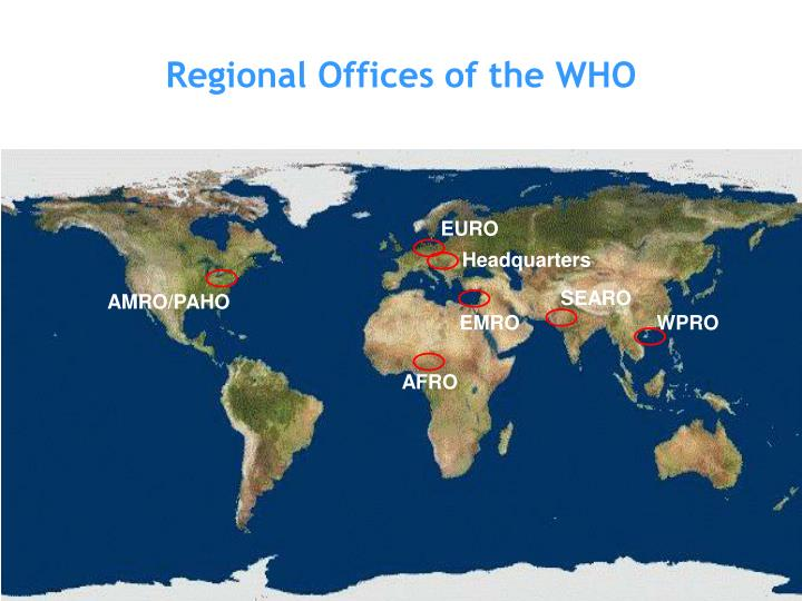 Regional Offices of the