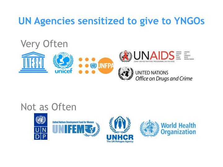 UN Agencies sensitized to give to YNGOs