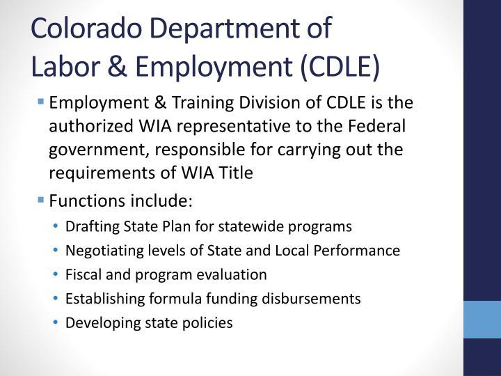 Colorado Department of