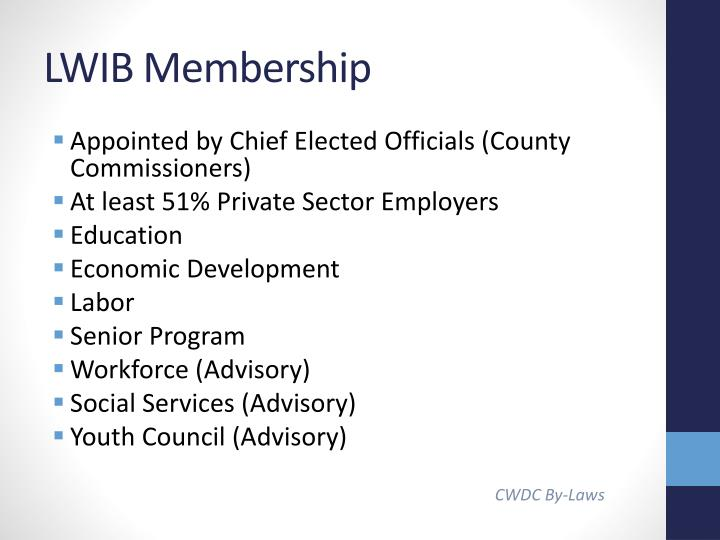 LWIB Membership