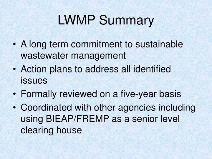 LWMP Summary