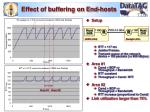 effect of buffering on end hosts