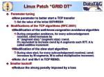 linux patch grid dt