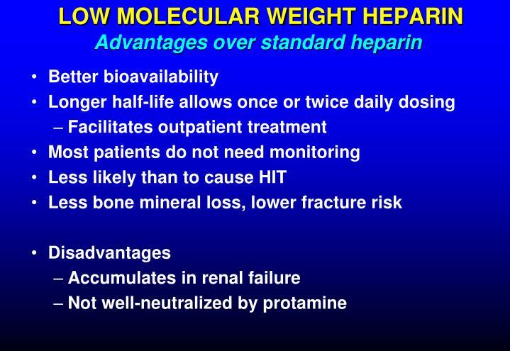 LOW MOLECULAR WEIGHT HEPARIN