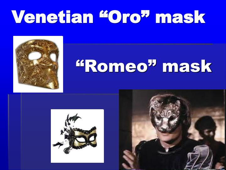 "Venetian ""Oro"" mask"