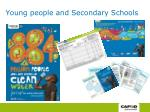 young people and secondary schools