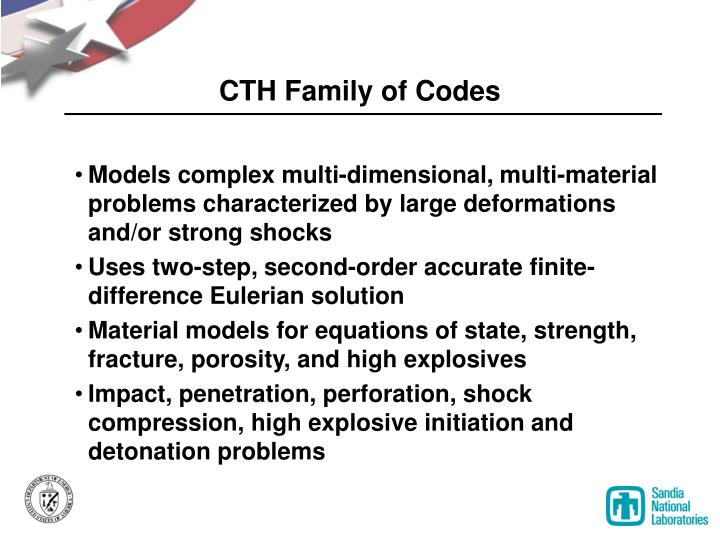 CTH Family of Codes