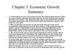 chapter 3 economic growth summary