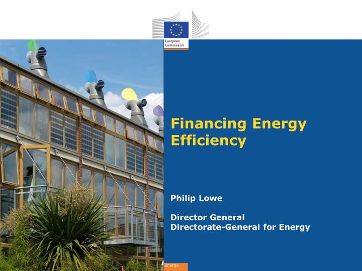 financing energy efficiency n.