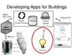 developing apps for buildings