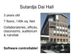 sutardja dai hall
