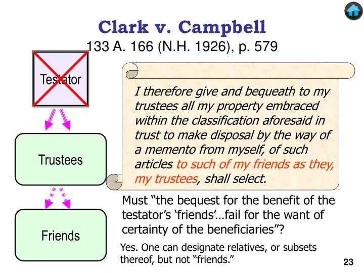 I therefore give and bequeath to my trustees all my property embraced within the classification aforesaid in trust to make disposal by the way of a memento from myself, of such articles
