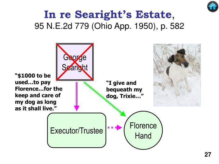 In re Searight's Estate