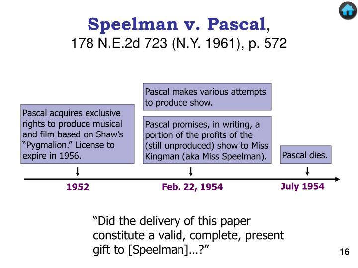 Speelman v. Pascal
