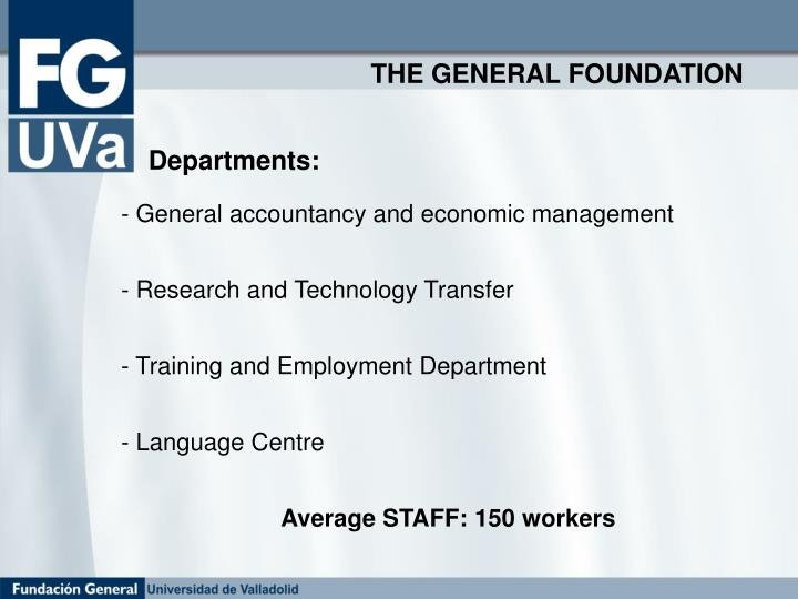 THE GENERAL FOUNDATION