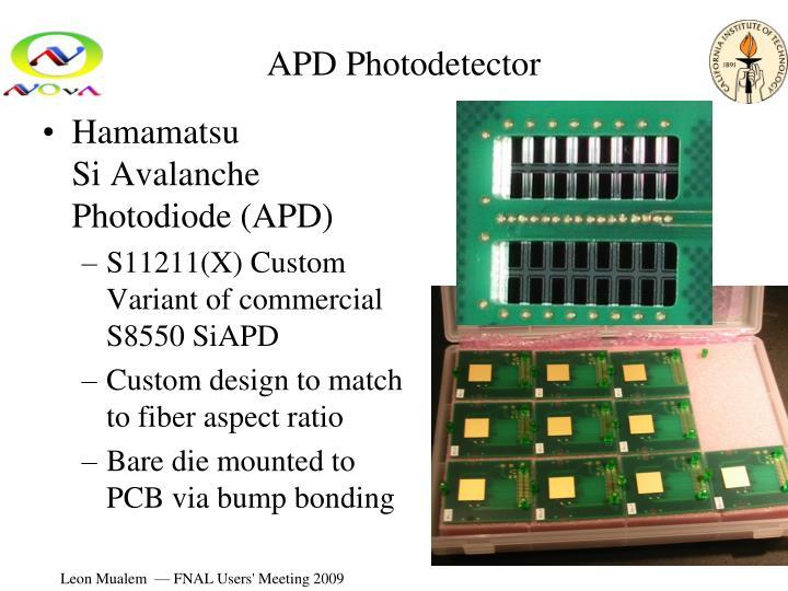 APD Photodetector