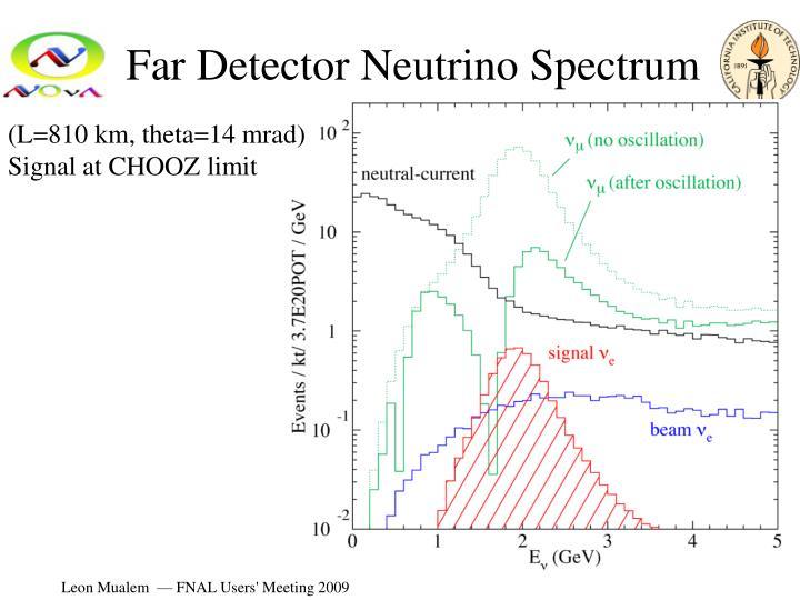 Far Detector Neutrino Spectrum