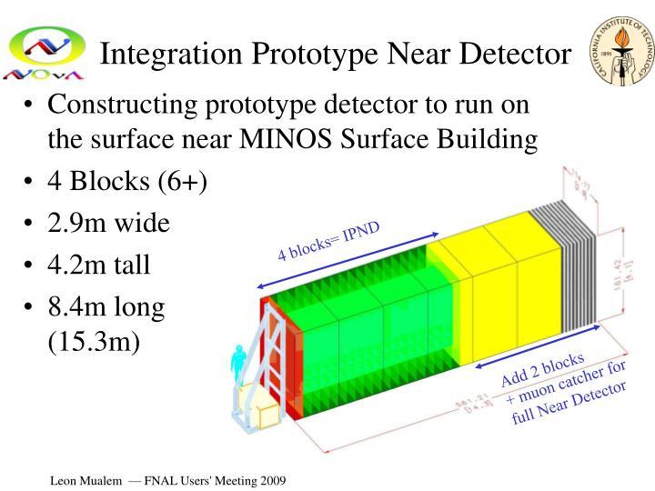 Integration Prototype Near Detector