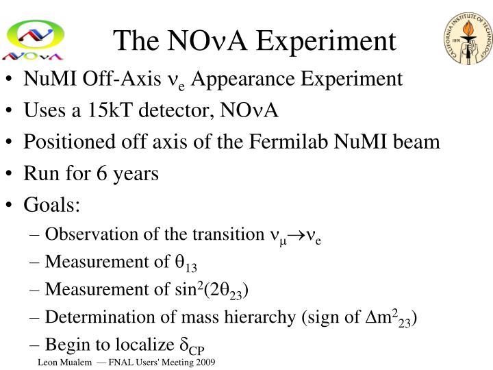 The no n a experiment