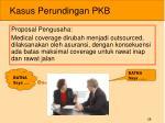 kasus perundingan pkb