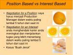 position based vs interest based