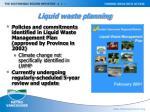 liquid waste planning