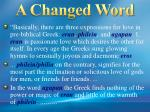 a changed word2