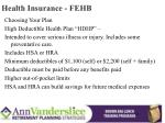 health insurance fehb7