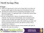 thrift savings plan2